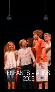 2015 : SPECTACLES ENFANTS & ADOS
