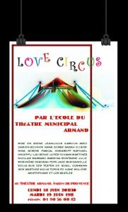 2007 : LOVE CIRCUS