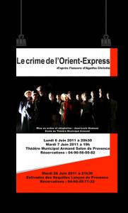 2011 : CRIME DE L'ORIENT-EXPRESS