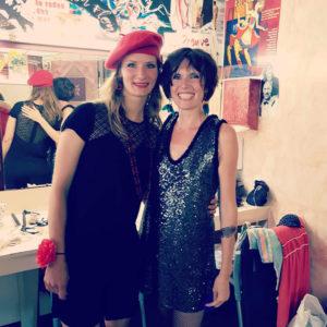 Sandrine et Hélène